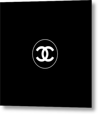Coco Chanel Metal Print