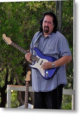 Coco Montoya And His Ocean Blue Fender American Standard Stratoc Metal Print
