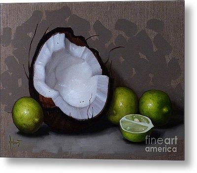 Coconut And Key Limes V Metal Print