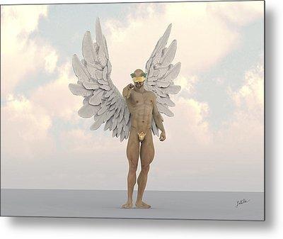 Coconut Angel Metal Print by Joaquin Abella