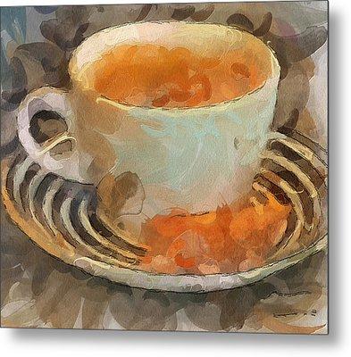 Coffee 01 Metal Print by Yury Malkov