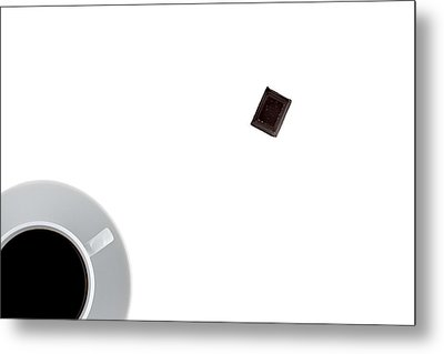 Coffee And Chocolade Metal Print by Gert Lavsen
