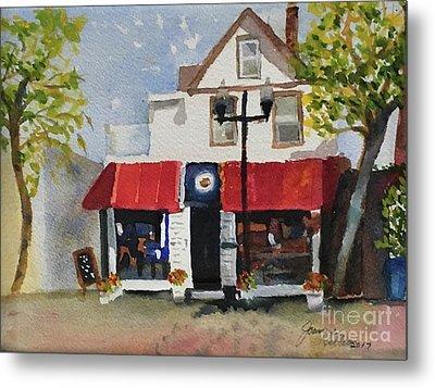 Coffee Co. Ocean City New Jersey Metal Print