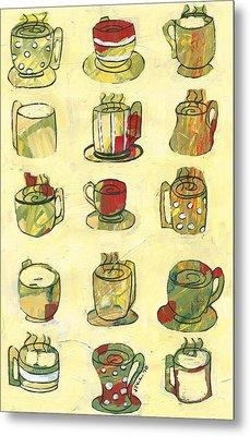 Coffee For Fifteen Metal Print