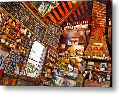 Coffee House Metal Print by Rich Leighton