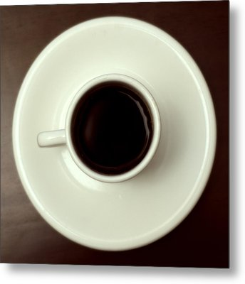 Coffee Metal Print by John Gusky
