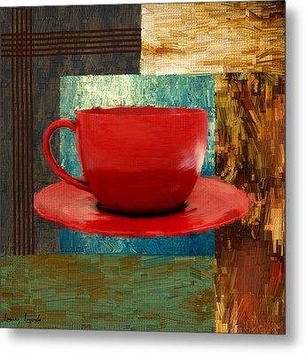 Coffee Lover Metal Print