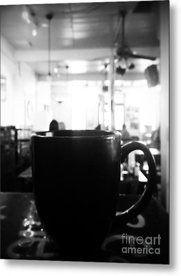 Metal Print featuring the photograph Coffee Shop by Utopia Concepts