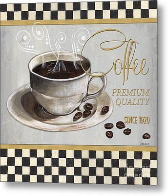 Coffee Shoppe 1 Metal Print by Debbie DeWitt