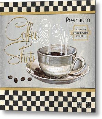 Coffee Shoppe 2 Metal Print