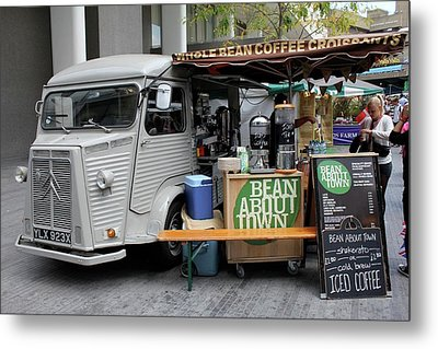 Metal Print featuring the photograph Coffee Truck by Christin Brodie