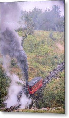 Cog Railway Car Metal Print