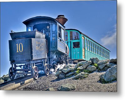 Cog Train Mount Washington Metal Print