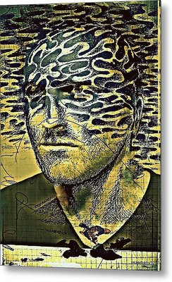Cognitive Distortions Metal Print by Paulo Zerbato