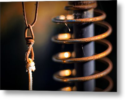 Metal Print featuring the photograph Coil by Tim Nichols