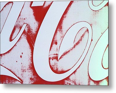 Metal Print featuring the photograph Coke 3 by Laurie Stewart