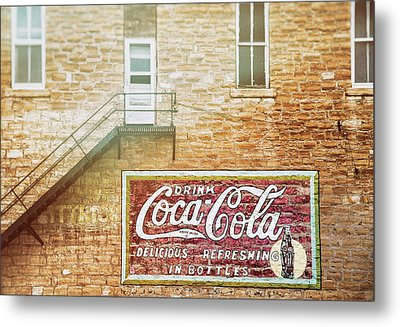 Coke Classic Metal Print by Darren White