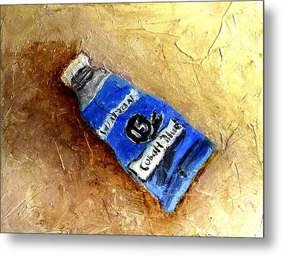 Colbalt Blue Metal Print by Fred Wilson