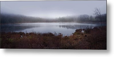 Cold And Misty Morning... Metal Print by Jerry LoFaro