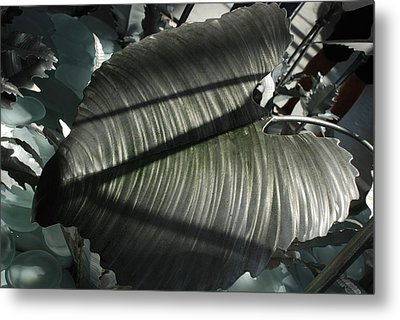 Cold As Iron Metal Print by Renee Holder