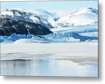 Cold Lake Metal Print by Svetlana Sewell