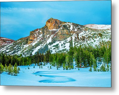 Cold Mountain Metal Print by Az Jackson