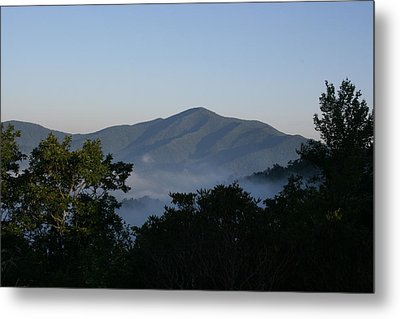 Cold Mountain North Carolina Metal Print by Stacy C Bottoms