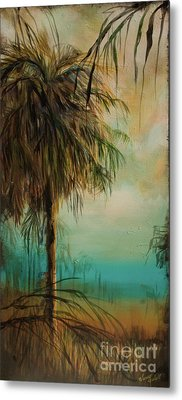 Cold Palm Marsh Metal Print by Michele Hollister - for Nancy Asbell