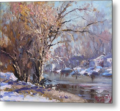 Cold Spring In Lasalle Metal Print by Ylli Haruni