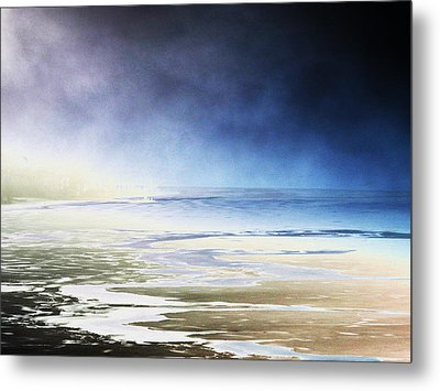 Metal Print featuring the photograph Cold by Steven Huszar