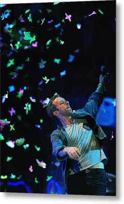 Coldplay1 Metal Print by Rafa Rivas
