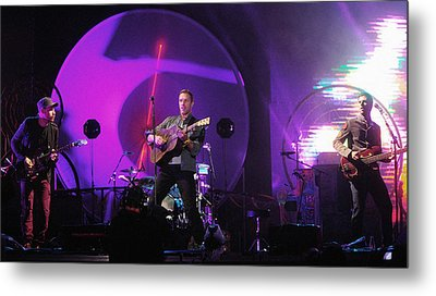 Coldplay5 Metal Print by Rafa Rivas