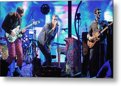 Coldplay7 Metal Print by Rafa Rivas