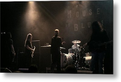 Cold's Back To The World Metal Print by Stephanie Haertling