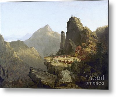 Cole: Last Of The Mohicans Metal Print by Granger