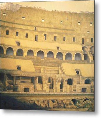 Coliseum Floor Metal Print