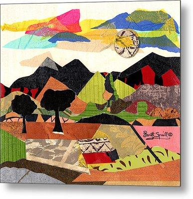 Collage Landscape 1 Metal Print