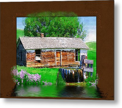 Metal Print featuring the photograph Collage by Susan Kinney