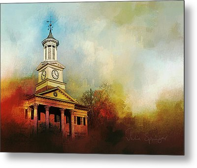 College Colors Metal Print