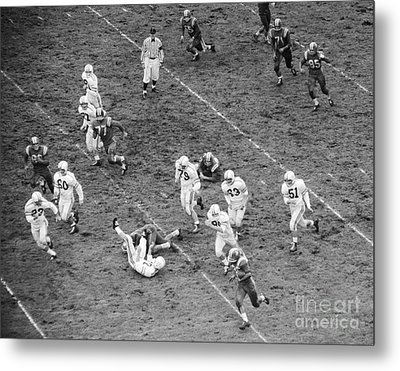 College Football Game From Above Metal Print by H. Armstrong Roberts/ClassicStock