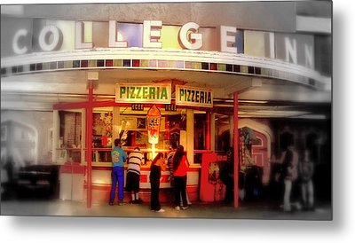 College Inn Metal Print by Andrew Gillette