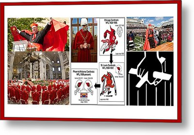 College Of Cardinals Metal Print