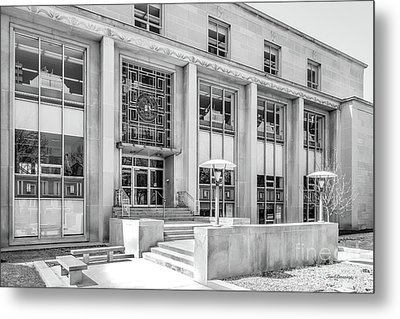 College Of Wooster Andrews Library Metal Print by University Icons