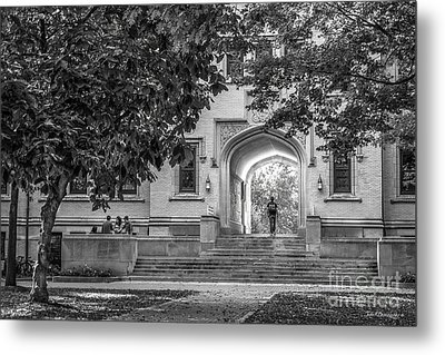 College Of Wooster Kauke Arch Metal Print by University Icons