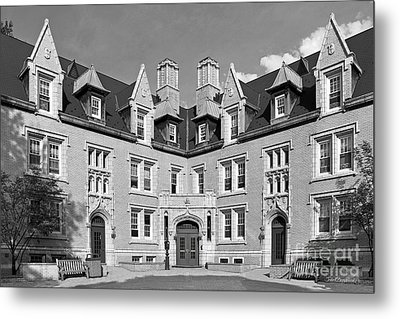 College Of Wooster Kenarden Lodge Metal Print by University Icons