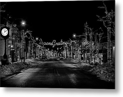 Collingswood Christmas Metal Print by Shawn Colborn