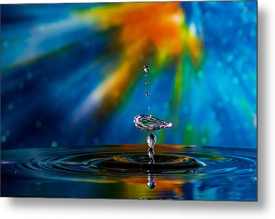 Collision 55 Metal Print by Jay Stockhaus