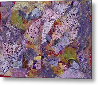 Collision Painting Metal Print by Don  Wright