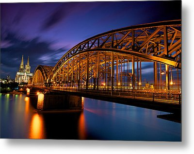 Cologne Cathedral Metal Print by Andre Distel Photography