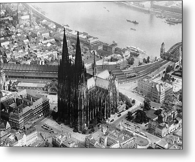 Cologne, Germany, The Cologne Cathedral Metal Print by Everett